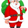 Santa Claus, illustration - Image vectorielle