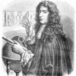 Stock Photo: Giovanni Domenico Cassini, vintage engraving