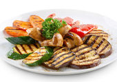 Grilled vegetables — Foto Stock