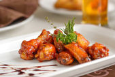 Spicy chiken wings — Stock Photo