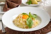 Spaghetti carbonara — Stockfoto