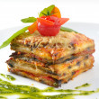 Stock Photo: Appetizing lasagna
