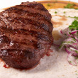 Grilled beef steak — Stock Photo
