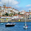 River Douro and the city of Porto — Stok fotoğraf