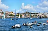 Catamarans on river Douro — Foto Stock