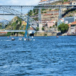 Stock Photo: Boats on river Douro
