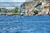 Boats on the river Douro — Stock Photo