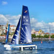 Catamarans racing — Stockfoto #26221283