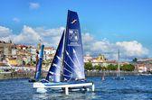 Catamarans racing — Stock Photo