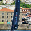 Catamarans racing — Stock fotografie #26949305