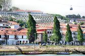 Buildings in the riverbanks of Douro — Stock Photo