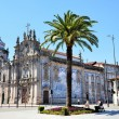 Historic church in the city of Porto — Stock Photo