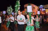 Traditional parade — Stock Photo