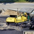 Machine for pave roads — Stock Photo