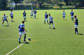 Soccer game — Stock Photo