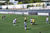 Футбольный матч — Стоковое фото