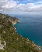 Scogliera di oceano montagna arrabida — Foto Stock