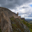 Marvao walls — Stock Photo