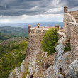 Marvao west walls — Stock Photo