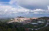 Overview of Castelo de Vide — Zdjęcie stockowe
