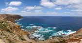 Costa nord di porto santo — Foto Stock