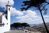 Porto Santo view from Senhora da Graca chapel — Stockfoto