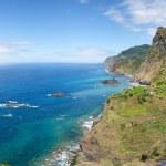 Sao Cristovao, Madeira north coast — Stock Photo #44941295