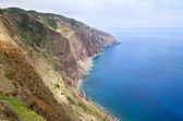 Ponta do Pargo south coastline, Madeira — Stock Photo