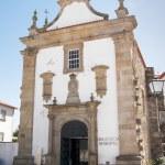 Old friars' church facade — Stock Photo #50268657