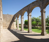 Cloister arches — Stock Photo