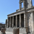 Stock Photo: View of Pompeii ruins, Italy