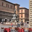 Stock Photo: Piazza Maggiore and Neptune Fountain, Bologna, Italy