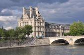 Louvre in Paris — Stock Photo