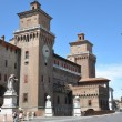 Estense Castle in Ferrara - Stock Photo