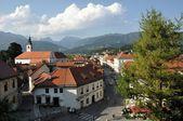 Panoramic view of Kamnik, Slovenia — Stock Photo