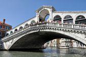 Rialto bridge, Venice, Itlay — Stock Photo