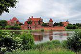 Malbork Castle, Poland — Stock Photo