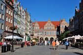 Dlugi Targ in Gdansk city center, Poland — Stock Photo