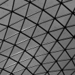 Glass ceiling in British Museum — Stock Photo