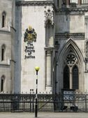 The Royal Courts of Justice in London. — Stock Photo
