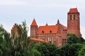 Kwidzyn castle and cathedral — Stock Photo