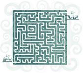 Abstract maze — Stock Vector