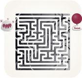 Monster maze — Stock Vector