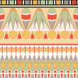 Egyptian ornament, vector illustration, seamless pattern — Stock Photo
