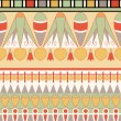 Stock Photo: Egyptiornament, vector illustration, seamless pattern