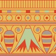 Colorful antient egyptian ornament, seamless pattern, vector — Stock Photo