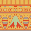 Colorful antient egyptian ornament, seamless pattern, vector — Stock Photo #22994678