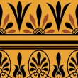 Vector set of national greek seamless ornaments (patterns) — Stok Fotoğraf #22995016