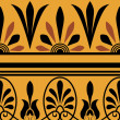 Vector set of national greek seamless ornaments (patterns) — Stockfoto #22995016