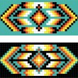 Traditional (native) AmericIndipattern, vector — Stok Fotoğraf #22995332